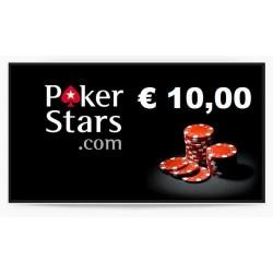 Ricarica POKERSTARS 10,00 euro