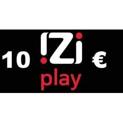 Ricarica IZI PLAY online 10,00 EURO