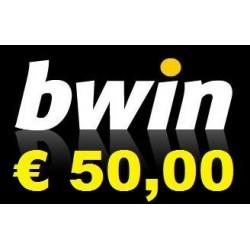 Ricarica BWIN online 10,00 EURO