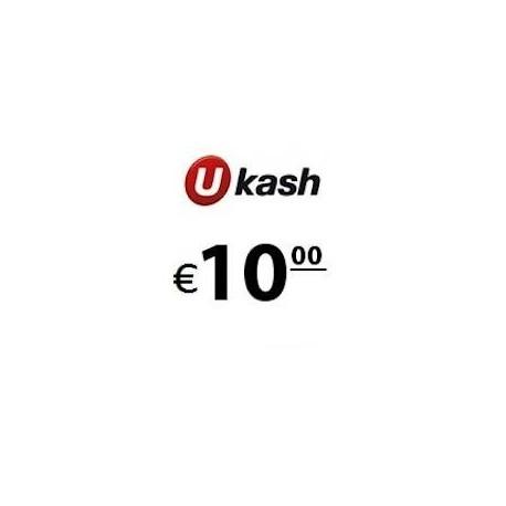 Recharge Ukash 10,00 EUR