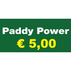 Ricarica PADDY POWER € 5,00