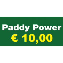 Ricarica PADDY POWER € 10,00