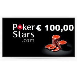 Ricarica POKERSTARS 100,00 euro