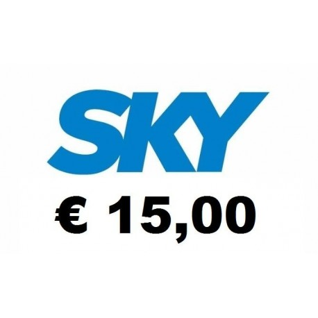 Ricarica SKY online 15,00