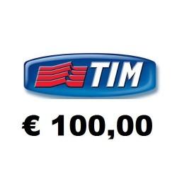 Ricarica TIM online € 100,00
