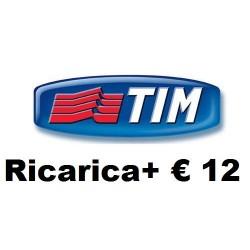 Tim RICARICA+ € 12,00