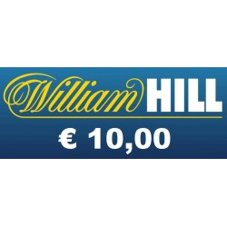 Ricarica WILLIAM HILL € 10,00