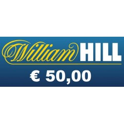 Ricarica WILLIAM HILL € 50,00