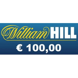 Ricarica WILLIAM HILL € 100,00