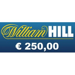 Ricarica WILLIAM HILL € 250,00