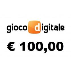 Ricarica GIOCO DIGITALE € 100,00
