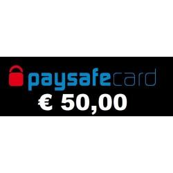 Recharge Paysafecard 25,00 EUR