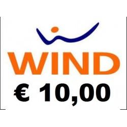 Ricarica WIND online 10,00 EURO