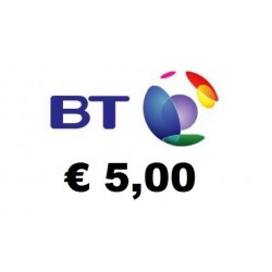 Ricarica BT Mobile 5,00 EURO