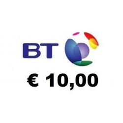 Ricarica BT Mobile 10,00 EURO