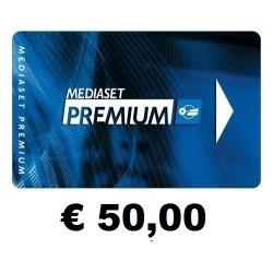Ricarica pin MEDIASET € 60,00
